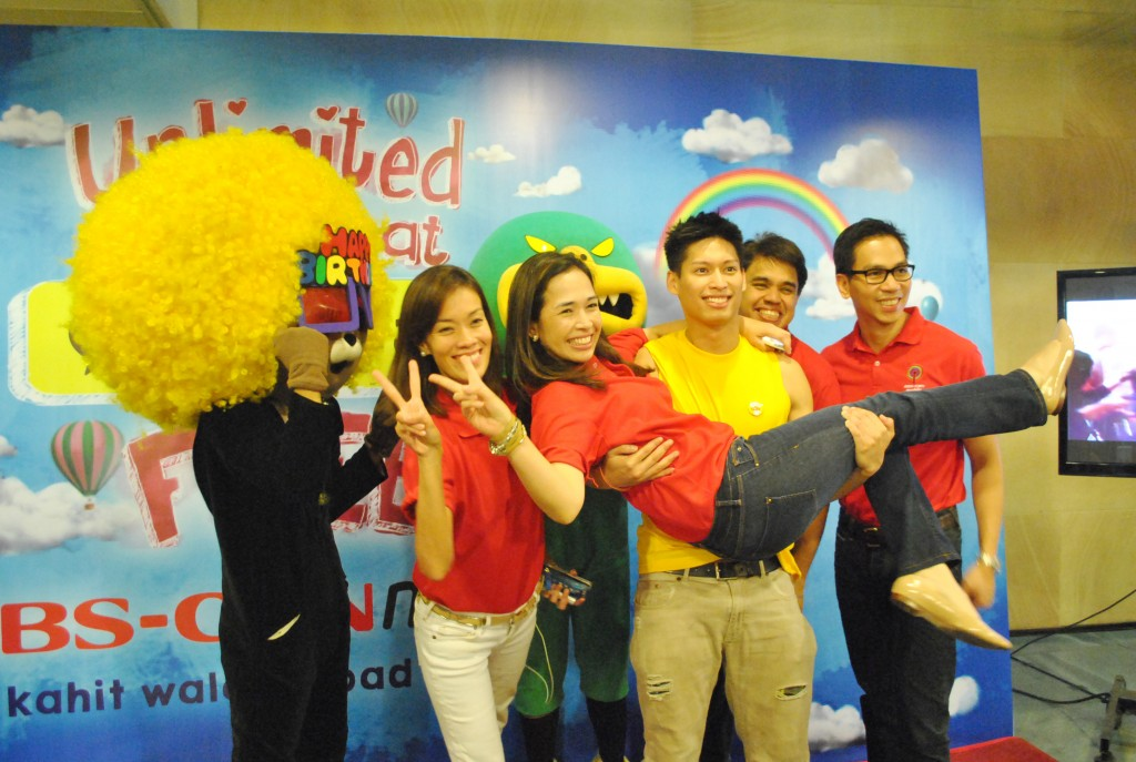 ABS-CBN Mobile Marketing Team